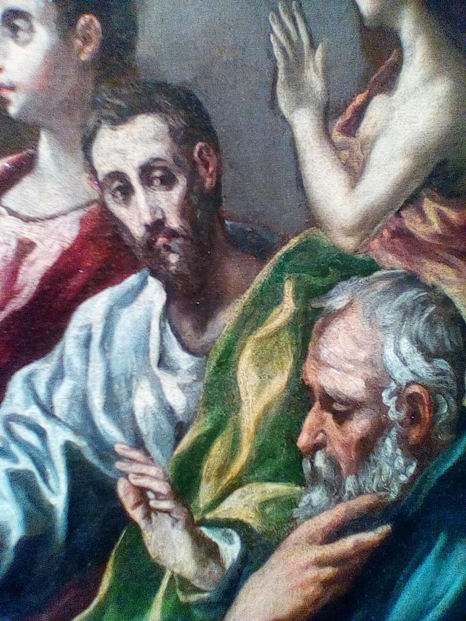 Eργο Γρεκο παραδοξα ομορφο αφου εγινε απο μαθητες του και οχι απο αυτον