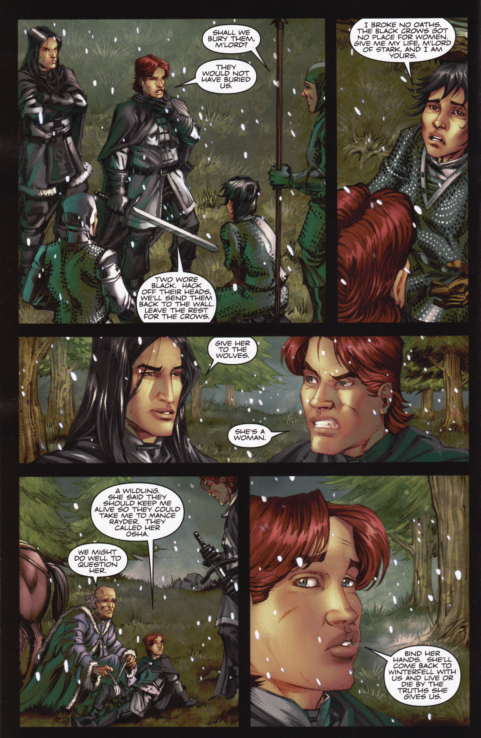Read online A Game Of Thrones comic -  Issue #12 - 14