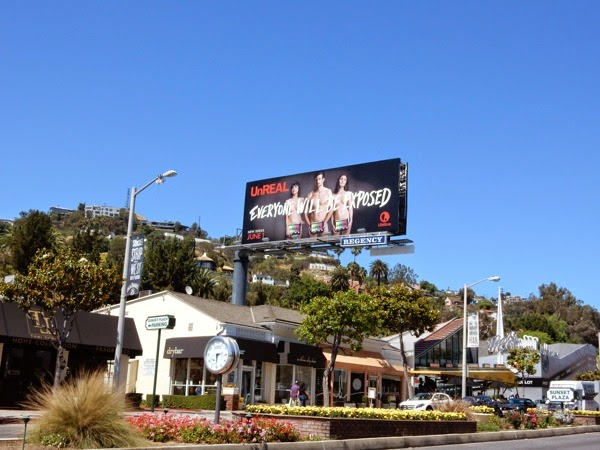 UnREAL Lifetime series billboard