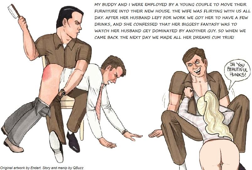 Cuckold Spanking Stories