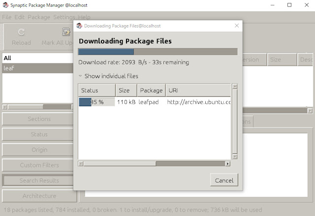 WSL その7 - Windows上でUbuntuのGUIアプリを動かしてみた - kledgeb