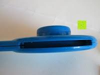 Schlitz: Health Enterprises - Läusekamm mit integriertem Licht, Vergrößerungslupe und auswechselbaren Metallzinken - Ideal zur Bekämpfung von Läusen, Nissen, Flöhen und Kopfläusen