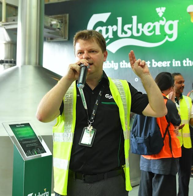 Piotr Zajac, Supply Chain Director of Carlsberg Malaysia
