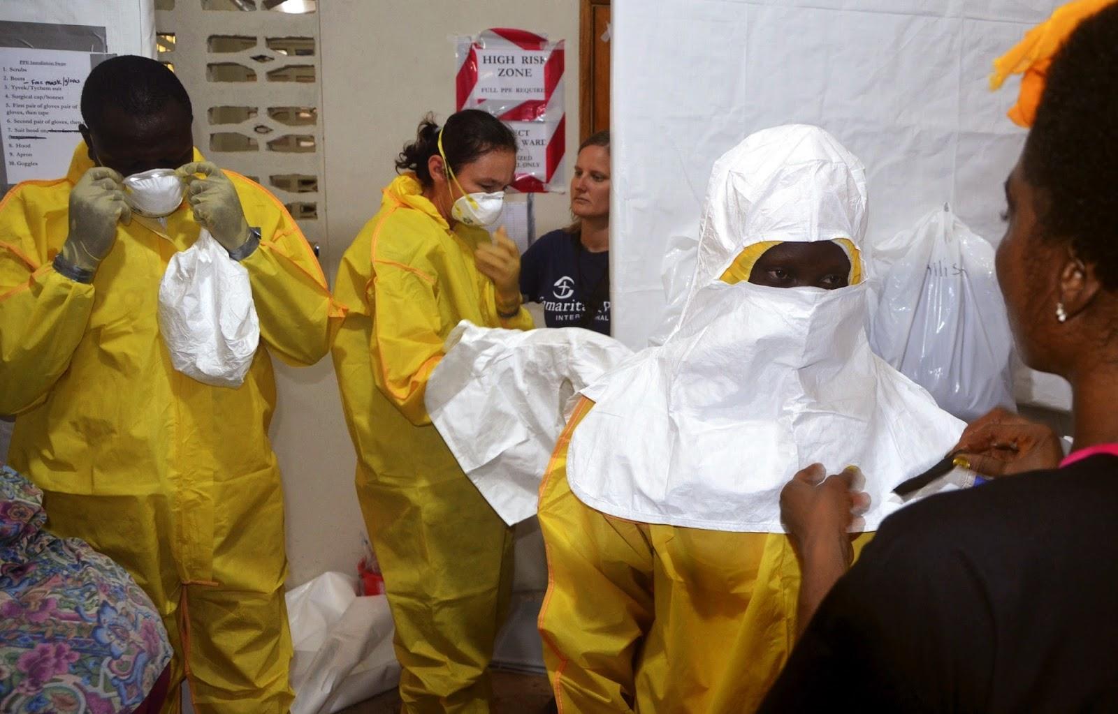nigeria donates ebola