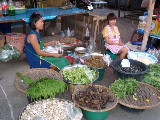 Market in Khon Kaen, North-East Thailand