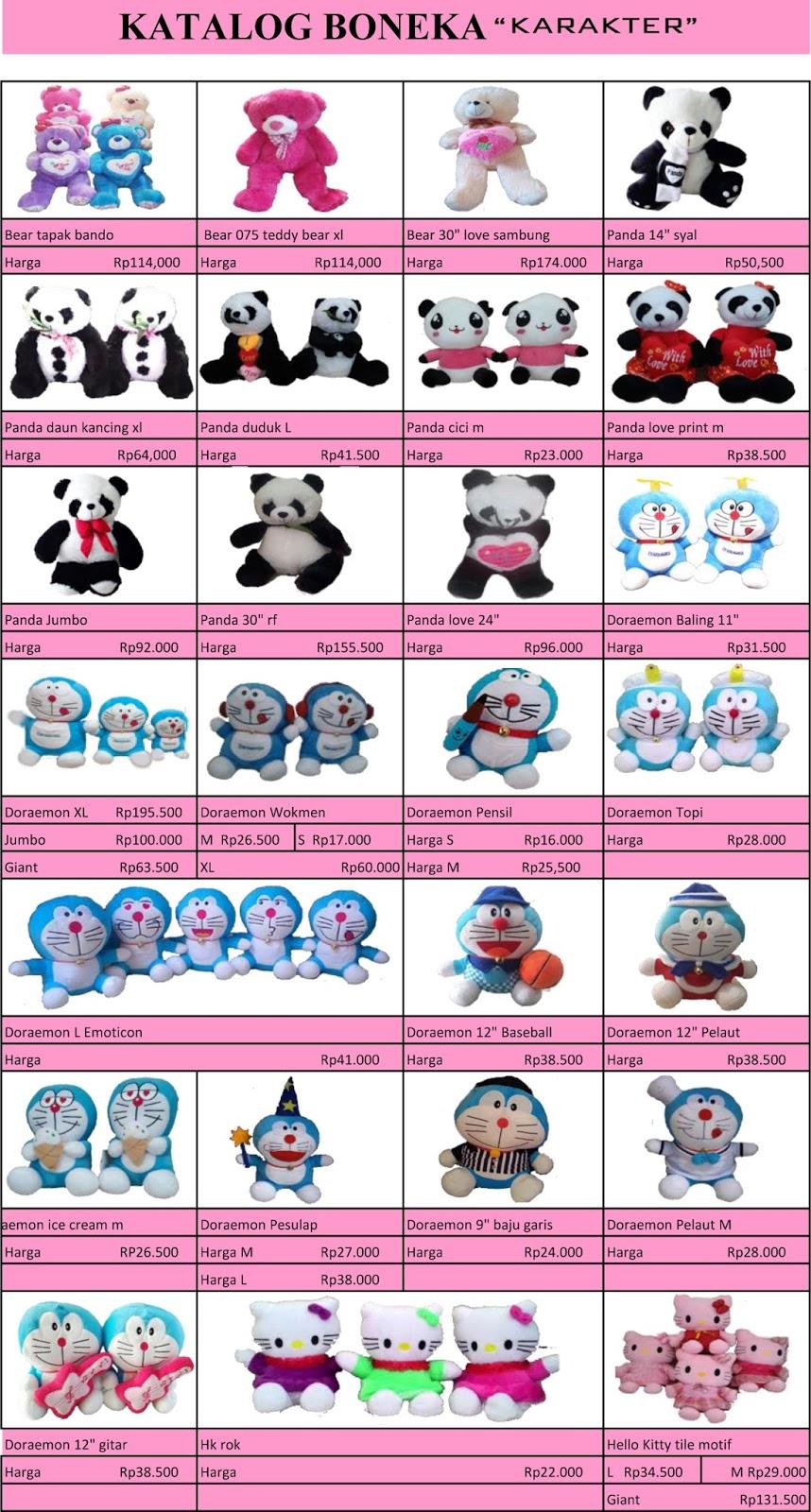 Katalog Boneka Secret Cart Katalig Baju Doraemon