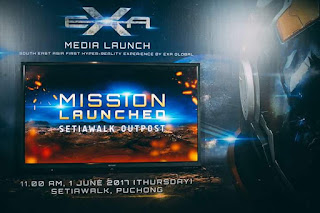 Hyper-Reality Entertainment, EXA Global, SetiaWalk Outpost, Dimension 12,