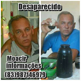 Família procura por caminhoneiro de Baraúna desaparecido há cinco meses
