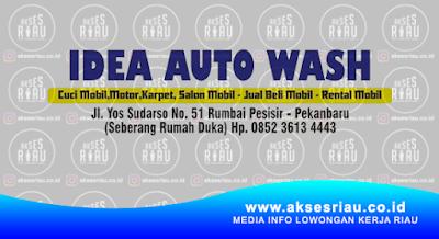 Lowongan Idea Auto Wash Pekanbaru Februari 2018