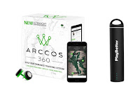 Arccos 360 Golf GPS Performance Tracking System, with Live Shot Tracking, GPS 2.0 for yardage on over 40000 courses, and Tour Analytics