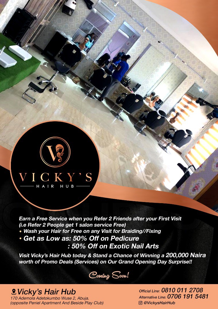 Make Free Hair At Vicky's Hair Hub