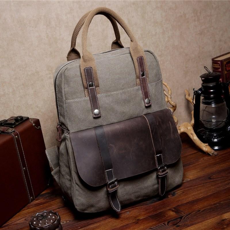 18571e402bacd MEXICAN 6 ™ hipsterska torba-plecak bawełna - skóra naturalna, unisex 2  kolory