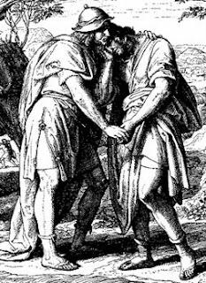 Davi e Jonatas, amor homossexual