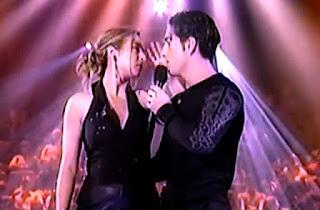 David Bustamante y Gisele canta Vivo por ella OT reencuentro
