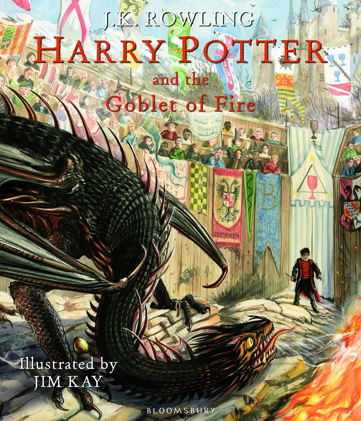 Harry Potter and the Goblet of Fire by J.K. Rowling and Jim Kay