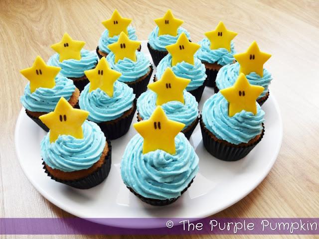 Starman Cupcakes | The Purple Pumpkin Blog