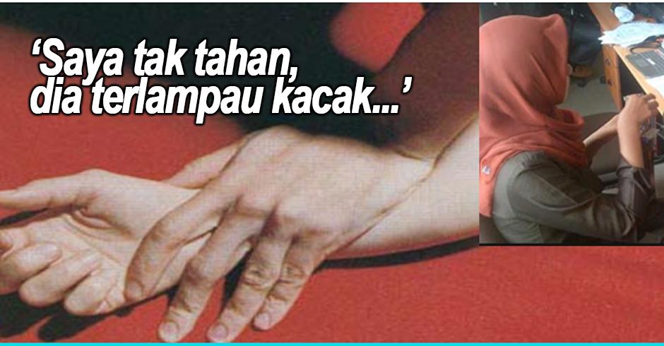 Gadis Tak Tahan Teman Lelaki Terlalu Kacak, Nekad RogoI Sampai Batang Lelaki 'BERDARAH'