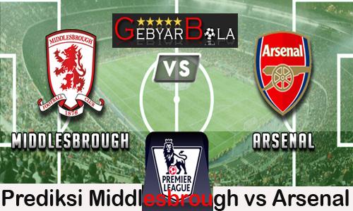 Prediksi Middlesbrough vs Arsenal Liga Inggris 18 April 2017
