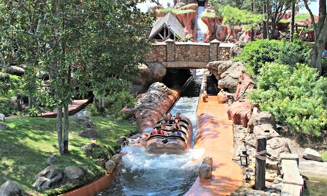 Disney Water Ride
