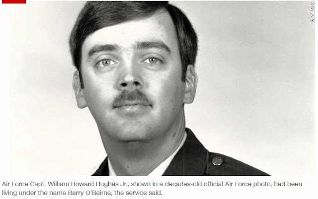 US Air Force officer deserter missing for 35 years found living in California
