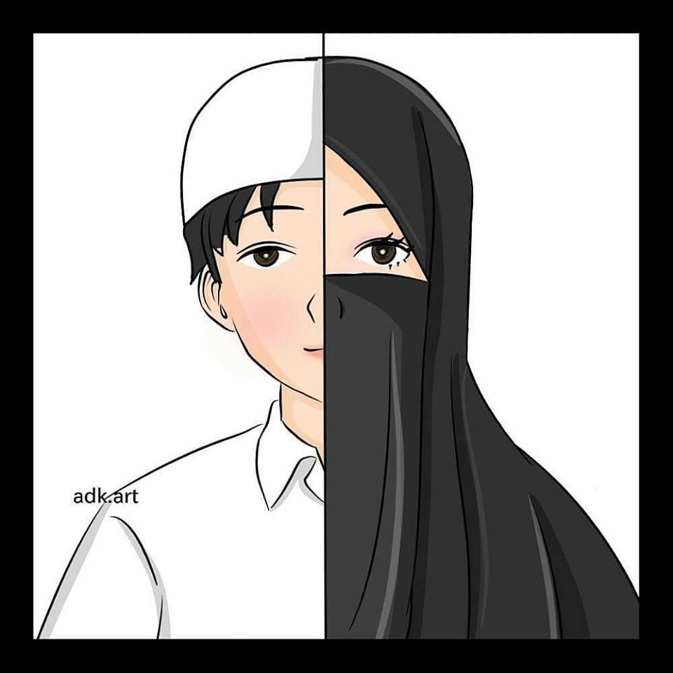 Gambar Kartun Muslimah Dengan Pesan Dan Nasehat Bagian 1 Gambar