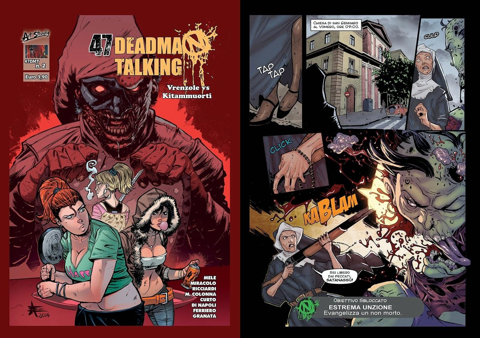 47 Dead Man Talking (cover+tavola)