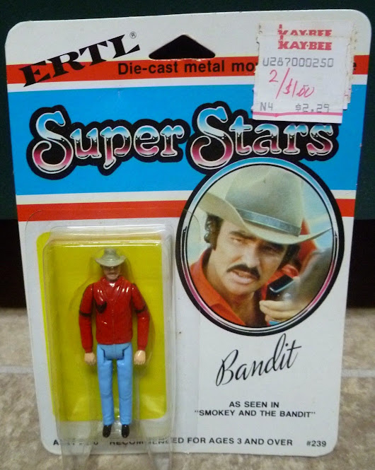 "Ertl 3 3/4"" Smokey and the Bandit Figure EAST BOUND AND DOWN !!!!!!"