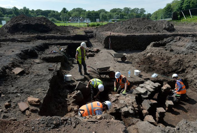 Roman bath house found in Carlisle