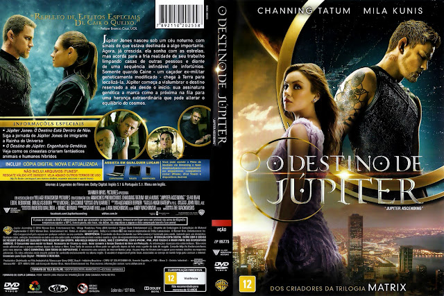 Capa DVD O Destino De Júpiter