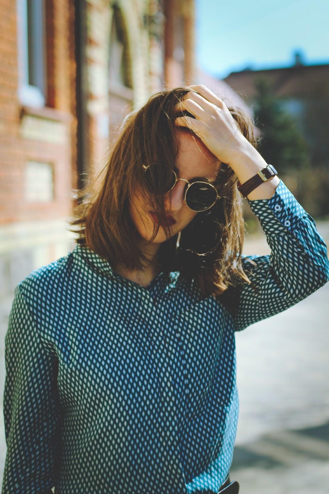 20858ed67597 Jedwabna piżamowa koszula   shirt  Uterque (outlet) (fajne alternatywy