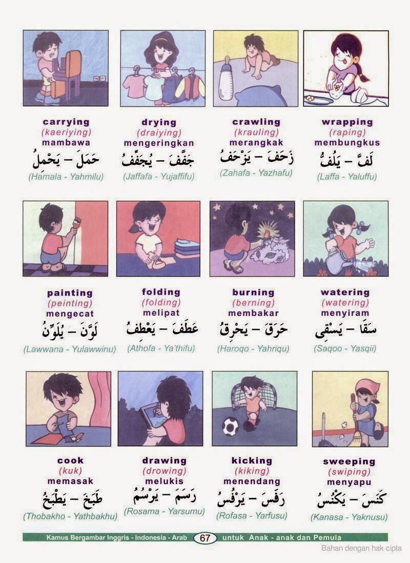kosa kata bahasa arab kata kerja