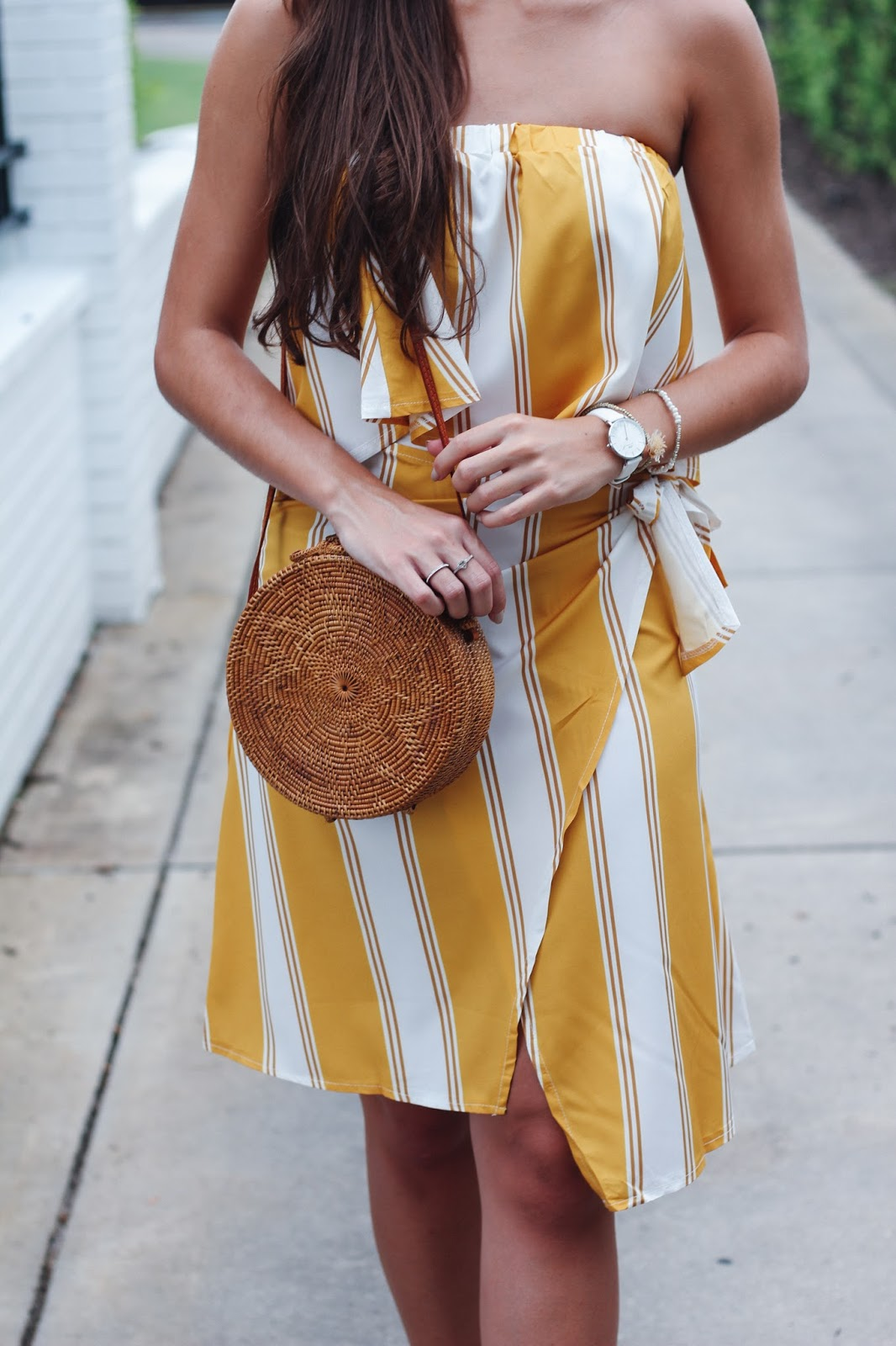 Yellow Fashion Two-Piece for Your Vacation Less Than $20