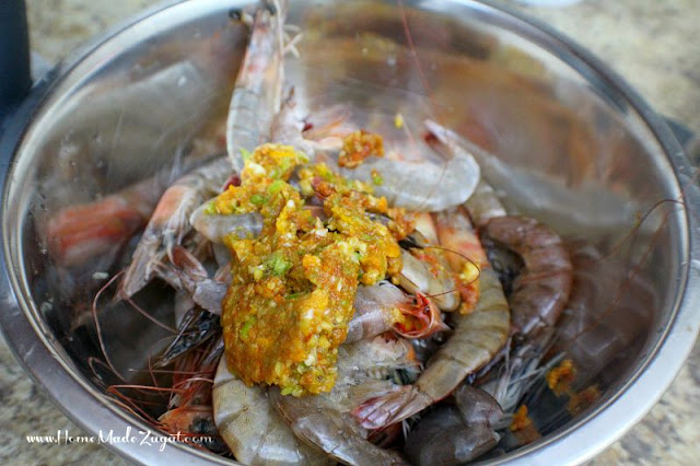 "A ""how to"" to create a Jamaican street food delicacy made of whole shrimp, marinated in hot pepper marinade then cooked to perfection."