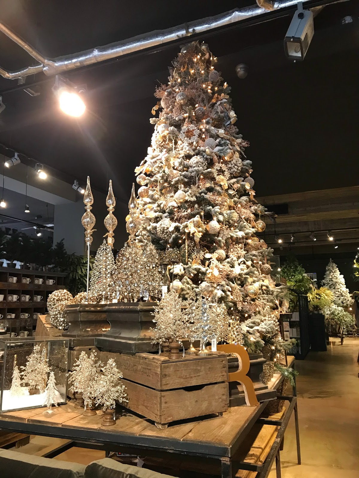 Christmas Decor in Robbies Den Bosch