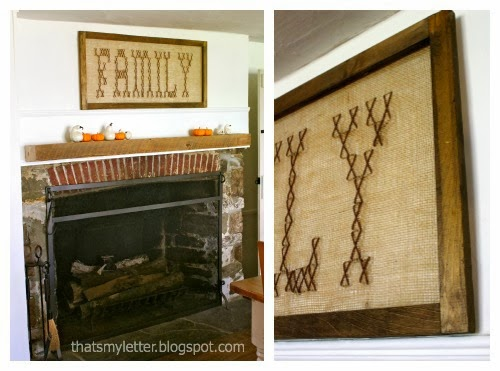 farmhouse dining room fall
