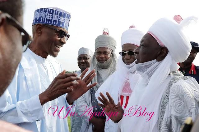 UPDATE: President Buhari in Katsina for Sallah (photos)