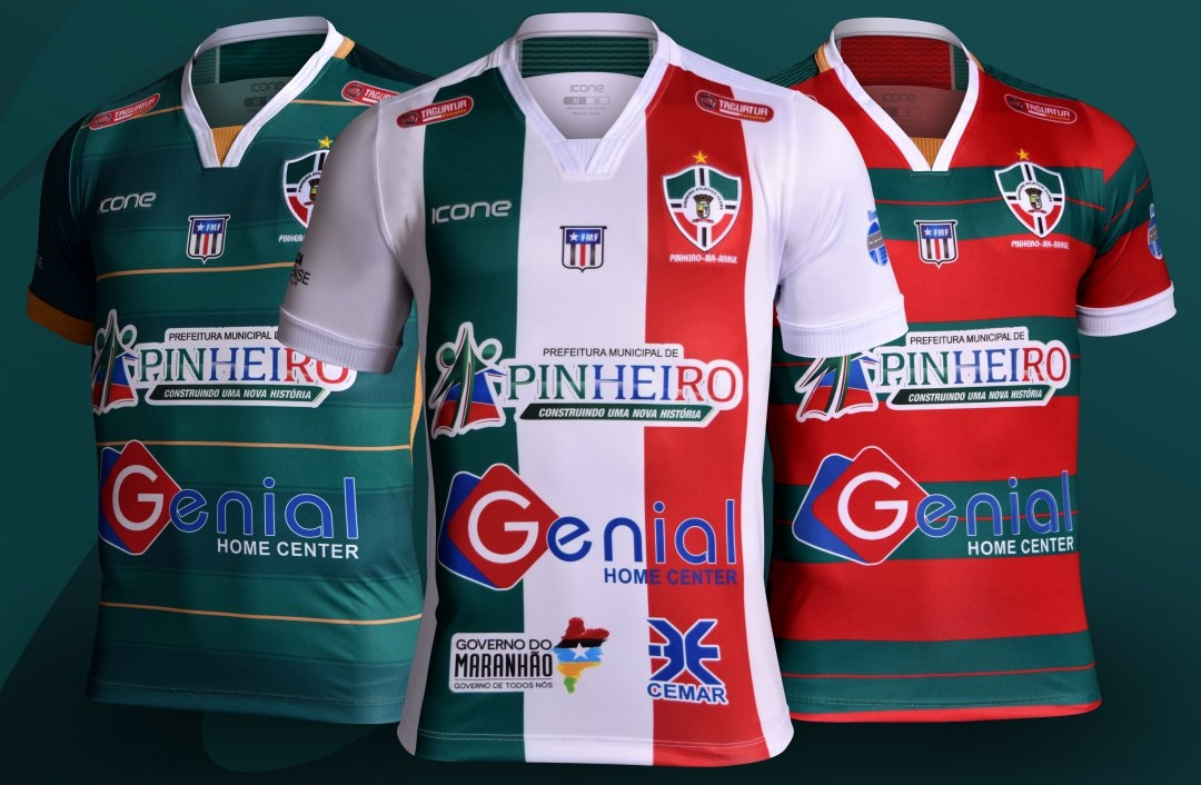 Ícone Sports divulga as novas camisas do Pinheiro - Show de Camisas cf1b9fb794e21