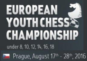 Le championnat d'Europe d'échecs jeunes à Prague