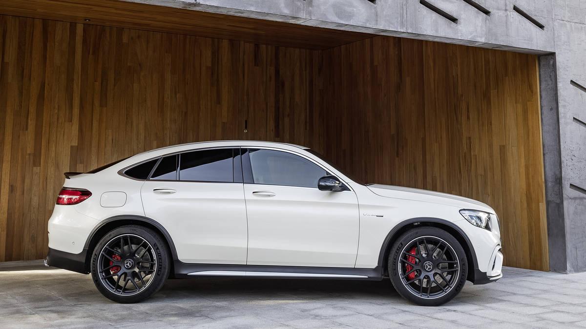 kích thước mẫu xe Mercedes AMG GLC Coupe 63 S đời mới bao nhiêu