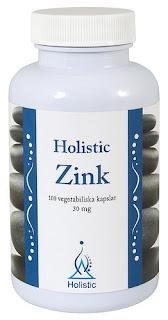 cynk holistic - suplement diety eko