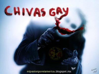 Mi Pasion Por el America Chivas Gay