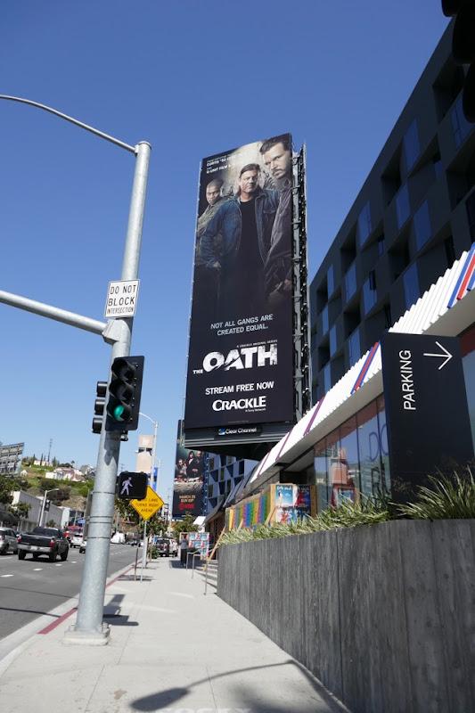Oath Crackle series billboard