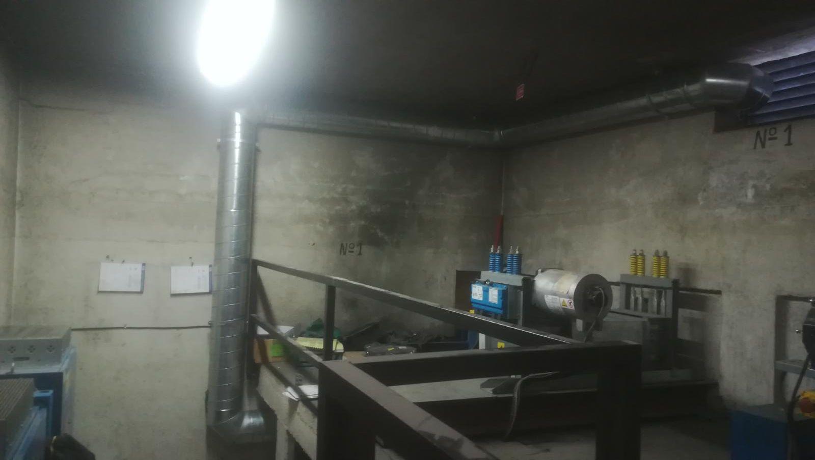 Ruidos sistemas de extracci n de humos extractor y for Ruido extractor cocina