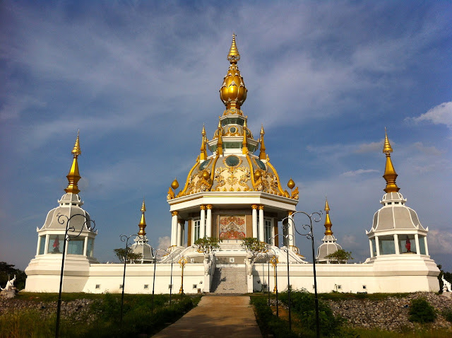 The Wat Toong Setthi in Khon Kaen