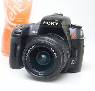 Sony Alpha a550 - DSLR Second