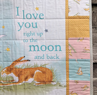 Guess How Much I Love You quilt panel