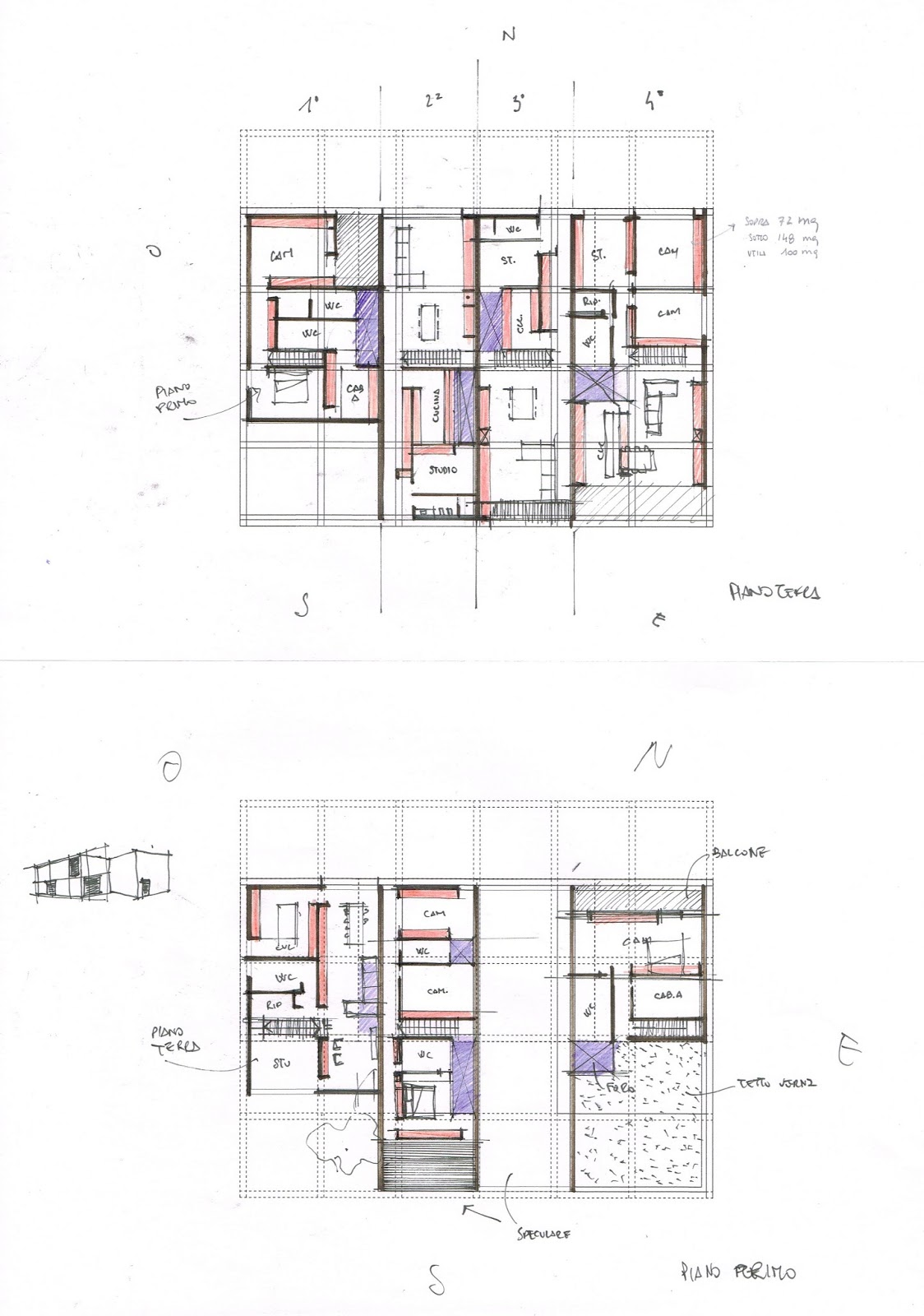 Planimetria plan studio di architettura a verona case for Planimetrie casa gratis