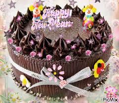 Yummy Happy New Year cake