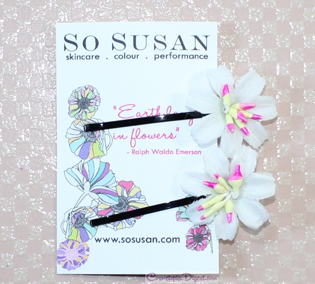 So Susan Lip Love Beauty Bag April 2015 review, unboxing, swatches, code