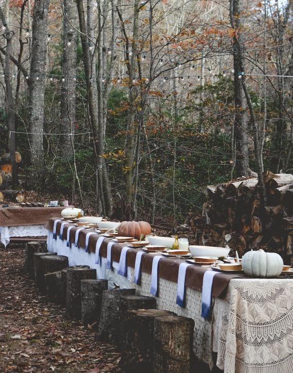 calabazas thanksgiving day decoración